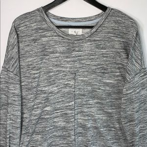 Lou and Grey Women's Gray Sweater